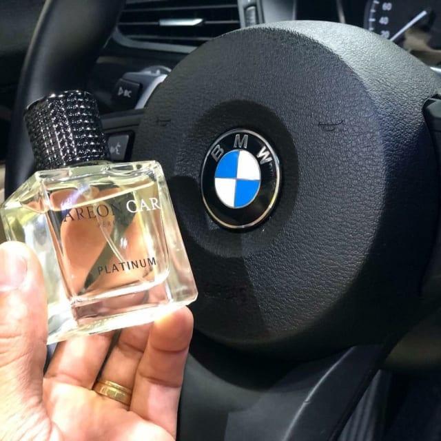 Nước hoa ô tô cao cấp Areon Platinum