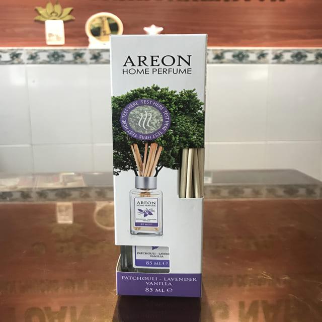 Nước hoa thơm phòng Areon hương Patchouli + Lavender + Vanilla